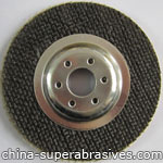 Electroplated diamond grinding pad